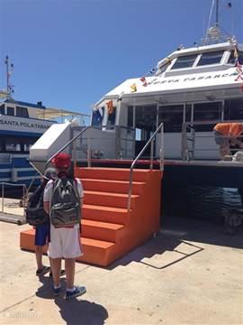Met de boot naar het prachtige eiland Tabarca, een vakantie in de vakantie!