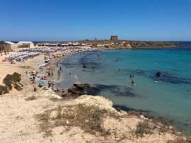 Het strand van Tabarca