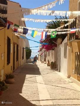 Leuke straatjes in op Tabarca