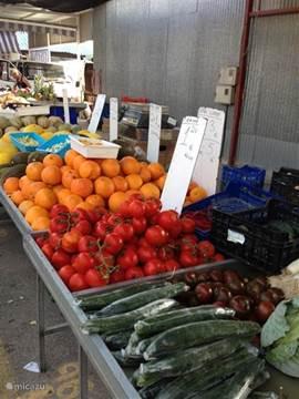 Op zondag naar de markt El Zoco, 5 autominuten van het huis