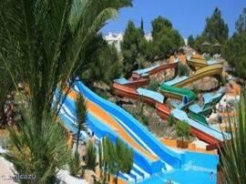 Het aquapark in Ciudad Quesada, op 5 autominuten van het huis.