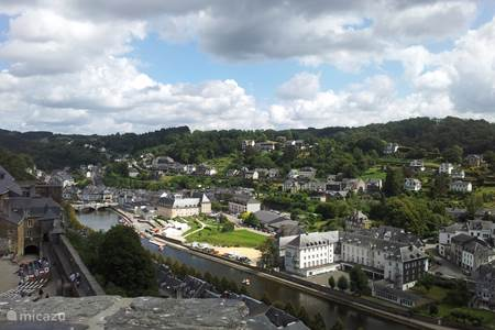 Bouillon city with a beautiful castle