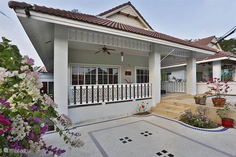 Vakantiehuis Thailand, Centraal-Thailand, Hua Hin vakantiehuis Villa in een heel rustig resort