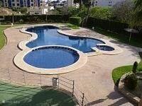 Zwembad van het complex