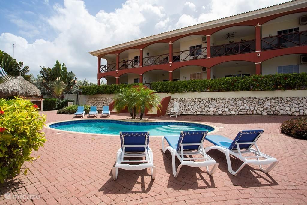 Vakantiehuis Curaçao, Curacao-Midden, Koraal Partier Appartement Appartement 2 Seru Hulanda