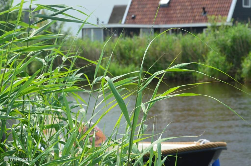Het huren van een boot behoort tot de mogelijkheden bij Vakantievilla Larissa in Giethoorn.