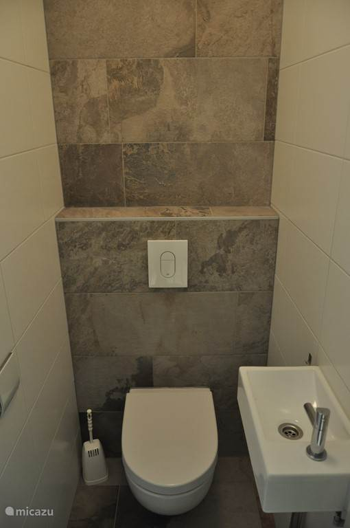 Apart toilet.