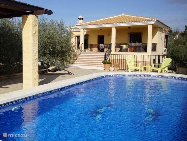 Vakantiehuis Spanje, Andalusië, Alhaurín el Grande villa Villa Borrajo