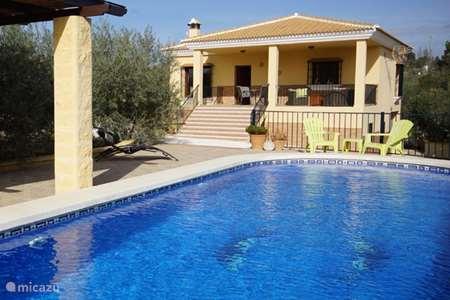 Vakantiehuis Spanje, Andalusië, Alhaurín el Grande - villa Dos Iberos villa