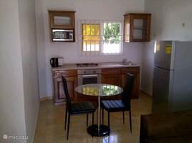 Open keuken en leefruimte