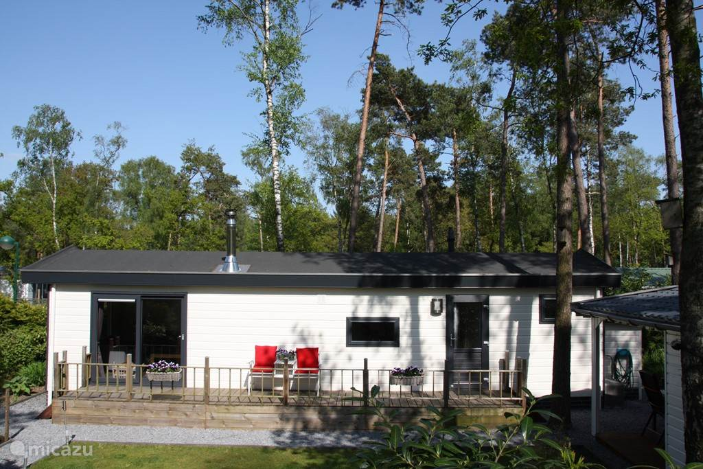 Vacation rental Netherlands, Gelderland, Hoenderloo bungalow BosBungalow 8 incl. 2 e-bikes