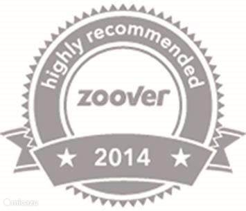 Highly recommended by Zoover 2014