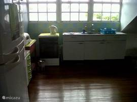 Elektrisch fornuis +keukenblok