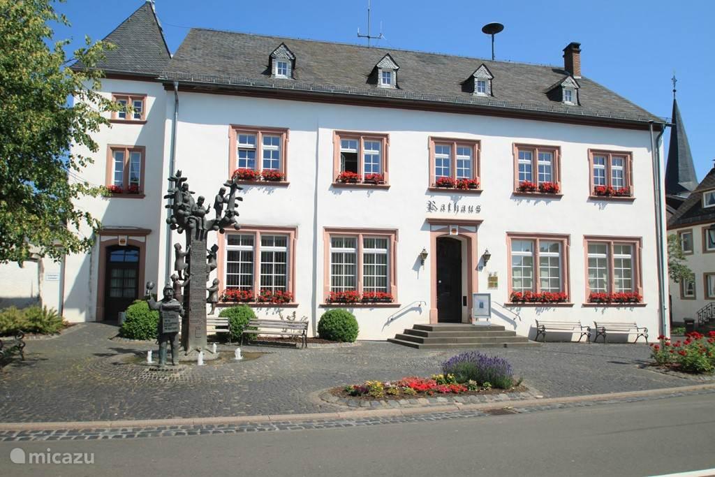 Het Gemeentehuis in Manderscheid