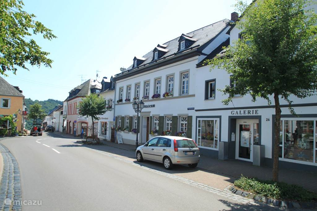 A portion of the mainstreet in Manderscheid