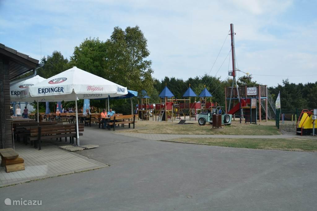 Speeltuin en restaurant Wildpark Daun
