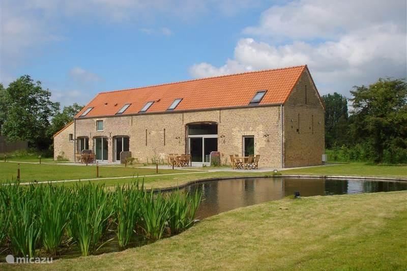 Vakantiehuis België, West-Vlaanderen, Brugge Boerderij Hoeve De Hagepoorter