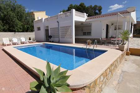 Ferienwohnung Spanien, Costa Blanca, Muchamiel - Alicante ferienhaus Hanneliv - Bungalow mit privatem Pool