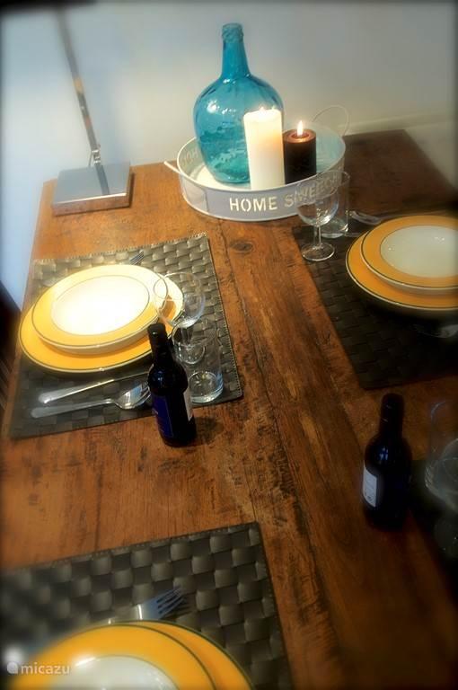 Heerlijk samen tafelen.