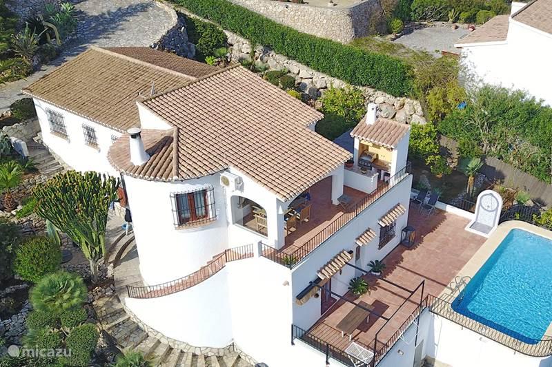 Vakantiehuis Spanje, Costa Blanca, Dénia Villa Casa Bodega