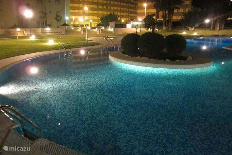 Vakantiehuis Spanje, Costa Blanca, El Campello Appartement Luxe App.Jardin del Mar strand,zwemb