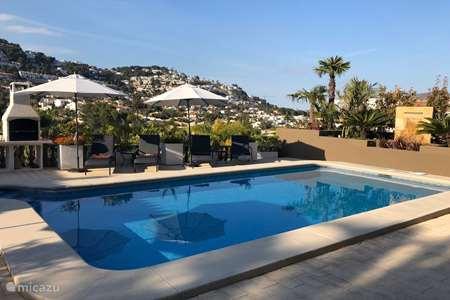 Vakantiehuis Spanje, Costa Blanca, Moraira - villa Villa Siesta