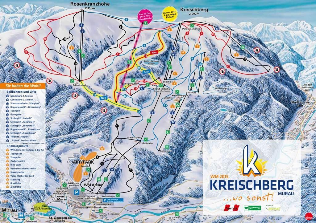 Winter - Skigebied