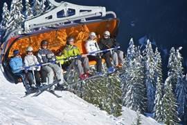 Asitz Bergbahn: Ski-circus Leogang - Saalbach - Hinterglemm.