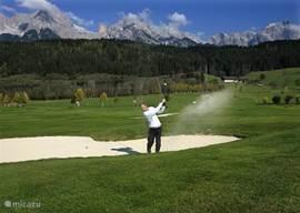 Golfvakantie & Golfcursussen bij Nederlanders in Saalfelden, Oostenrijk. Golfclub Urslautal.