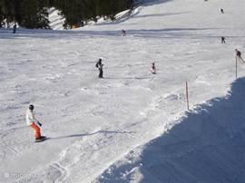 Top pistes ( 240 Km.) met sneeuw garantie: Skicircus; Leogang-Saalbach-Hinterglemm.