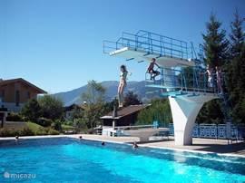 Verwarmd Erlebnisbad Obsmarkt: In direkte omgeving van vakantiewoning, op circa 600 meter loopafstand.