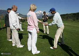 Golf Holidays & Golf Courses in Saalfelden, Austria. Golf Academy Urslautal, with Austrian & Dutch Golf Pro.