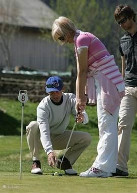 Golf Holidays & Golf Courses in Saalfelden, Austria. Golf Academy Urslautal with, Austrian & Dutch Golf Pro.