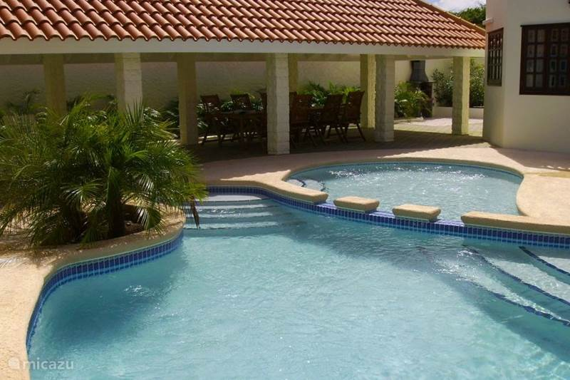Ferienwohnung Curaçao, Banda Abou (West), Grote Berg Villa Kas ku Palma