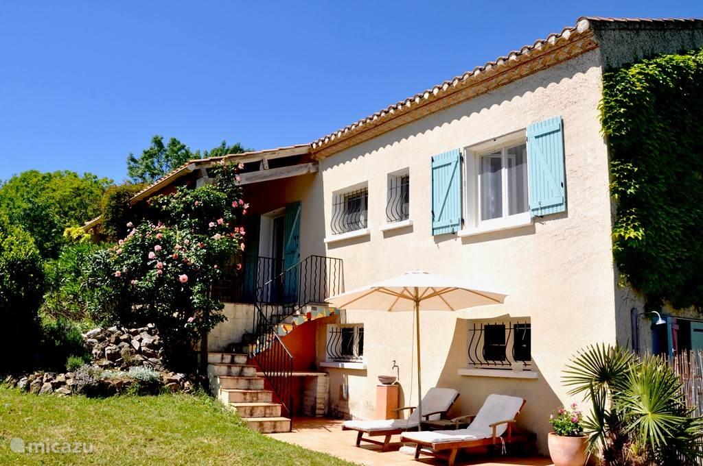 De villa met heerlijke terrassen