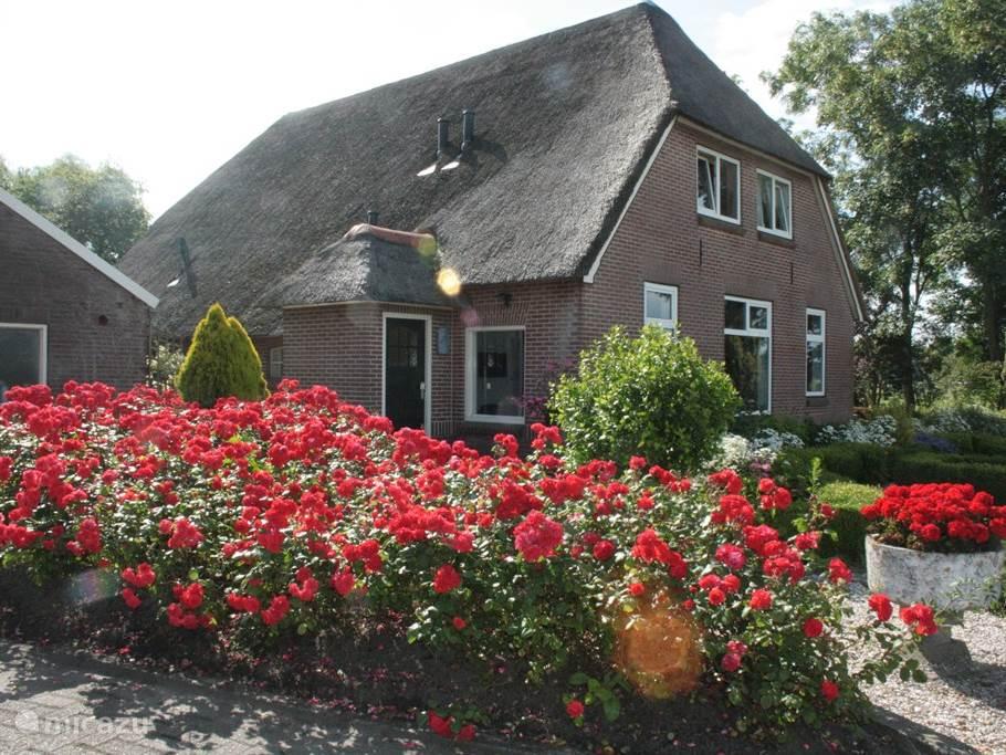 Vakantiehuis Nederland, Gelderland, Klarenbeek - boerderij Vakantiehuisje 'De Rozentuin'