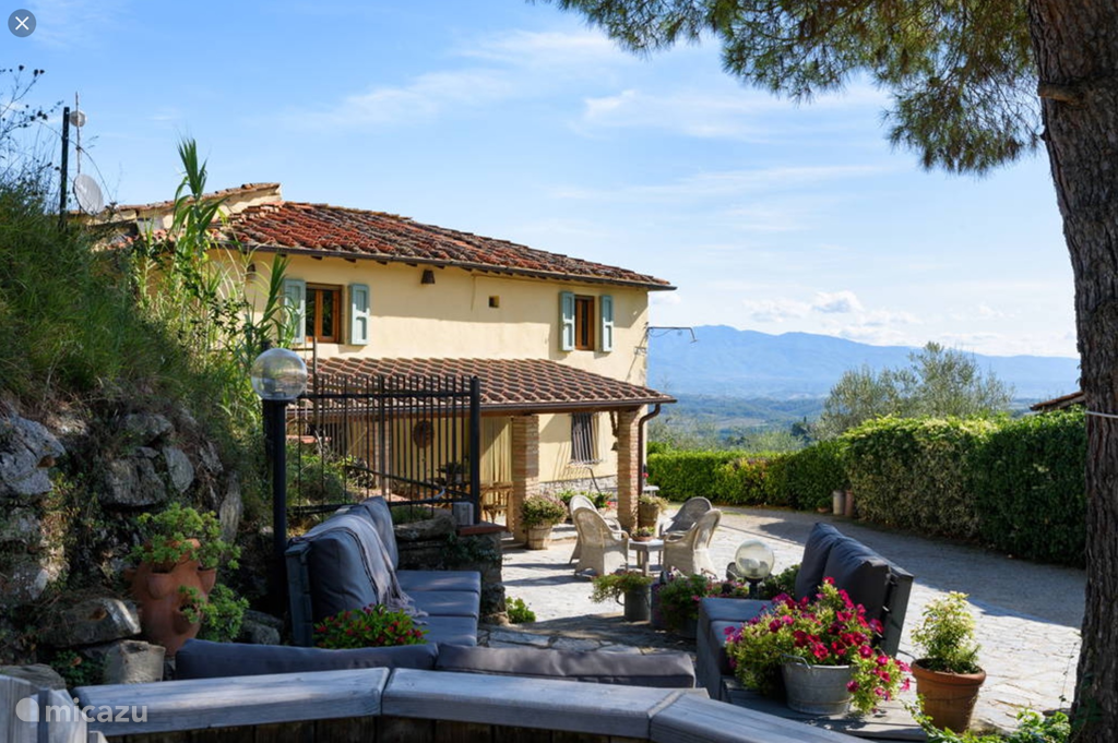 Vakantiehuis Italië, Toscane, Cavriglia vakantiehuis Casa dei Boschi
