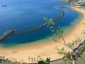 Playa las Teresitas bij Santa Cruz