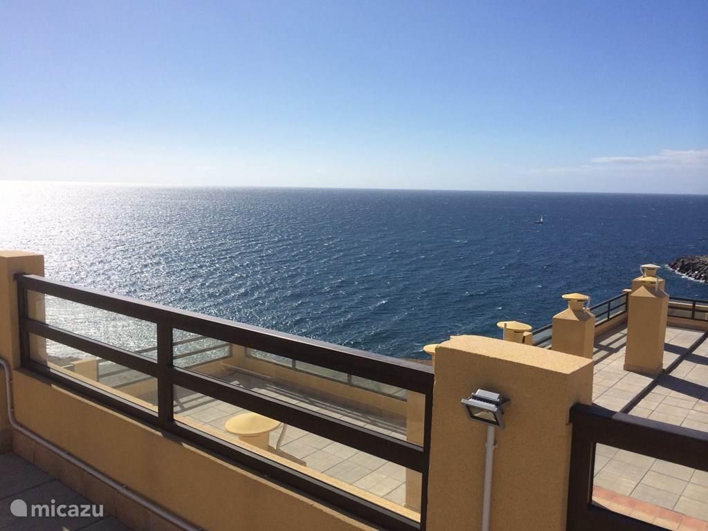 Adembenemend uitzicht vanaf het terras
