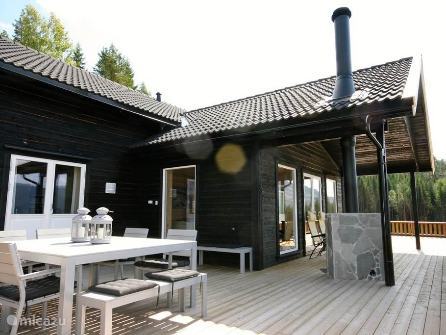 ferienhaus vradal urlaub in vradal telemark norwegen. Black Bedroom Furniture Sets. Home Design Ideas