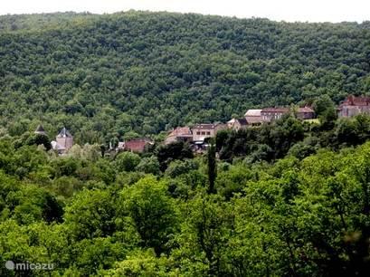 The village of Saint Medard