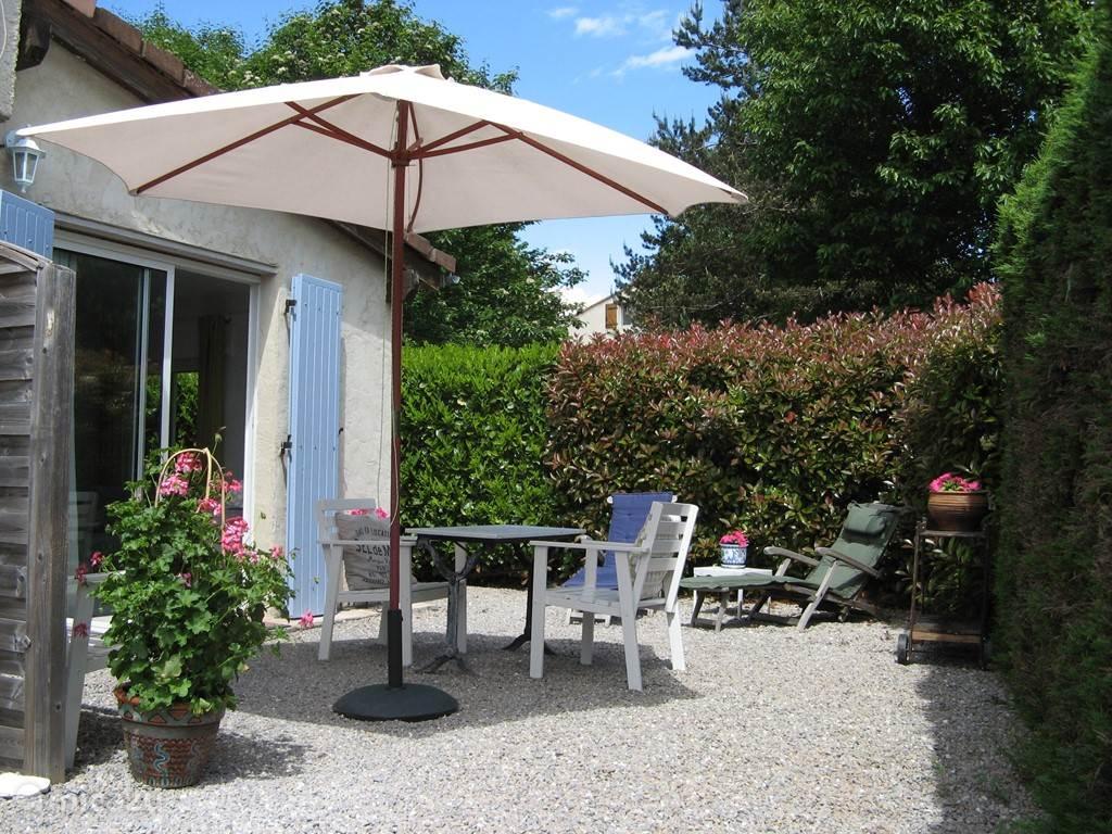 Private terrace for La Petite.
