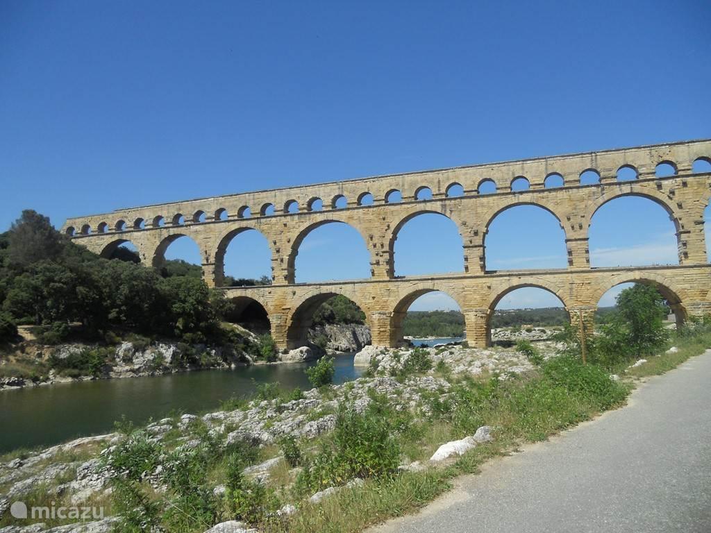 De Pont du Gard nabij Uzes