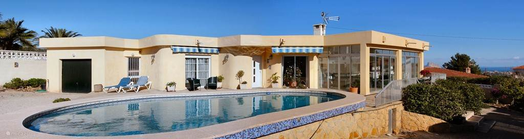 Vakantiehuis Spanje, Costa Blanca, Alfáz del Pi - villa Tossal Roig