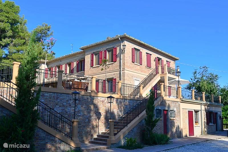 Vakantiehuis Italië, Marche, Orciano di Pesaro Villa Groepsaccommodatie Villa Fonti