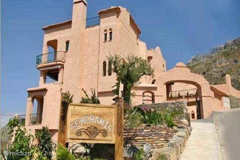 Vakantiehuis Spanje, Costa Blanca, Altea la Vieja Appartement La Villa en Rose 2