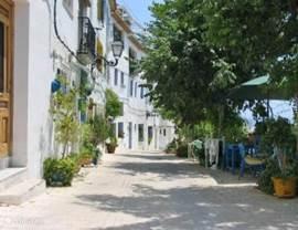 Het dorpje Altea la Vella 1,5 km vanaf het appartement