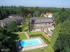 WestCord Hotel de Veluwe, hier checkt u in en kunt u gebruik maken van de faciliteiten ( aantal tegen betaling)