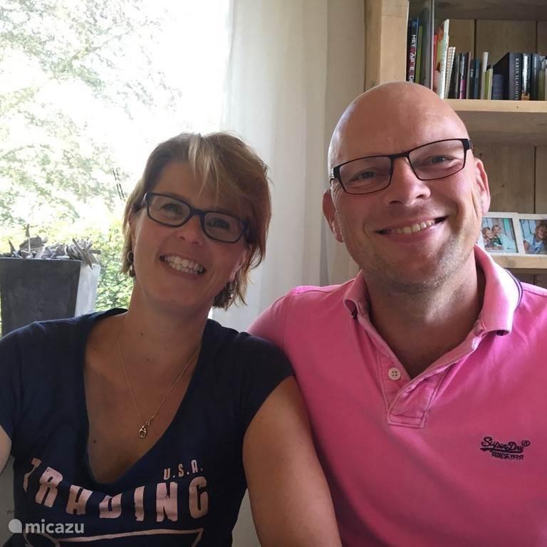 Tanja en Iwan Bos