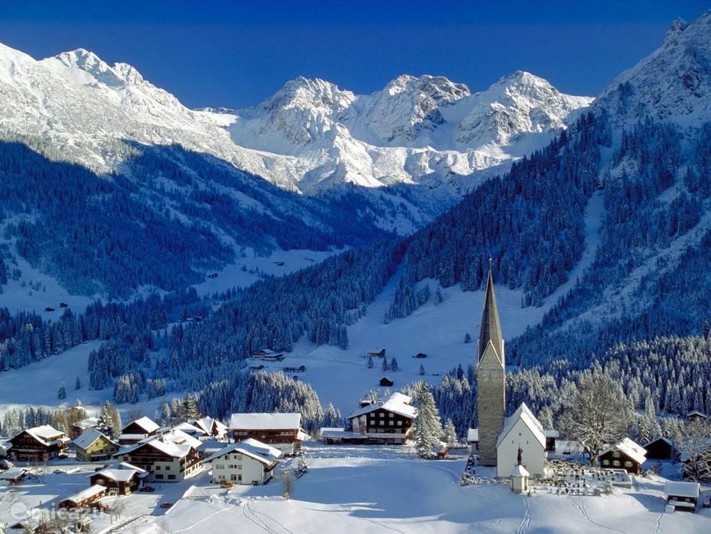 Winter Scene in Mittelberg